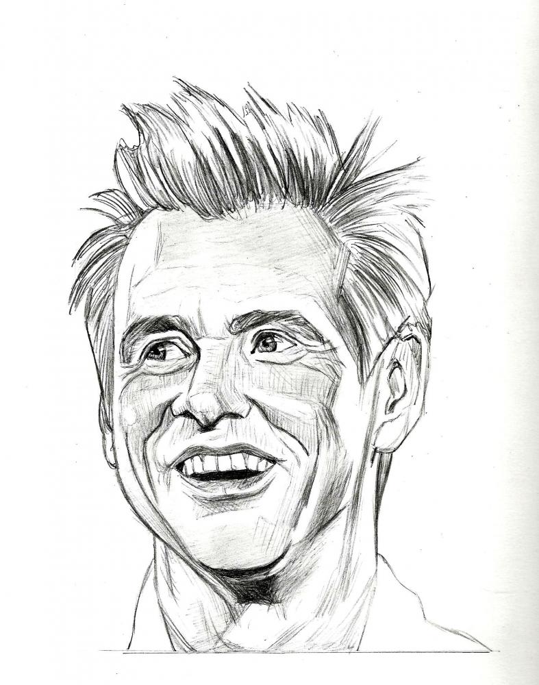 Jim Carrey by RobCrandall